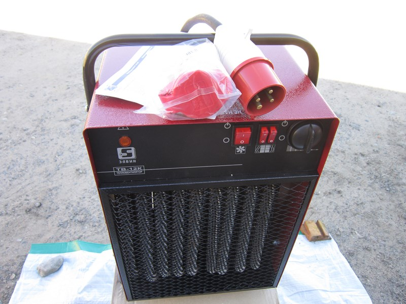 Электрический тепловентилятор ТВ-12