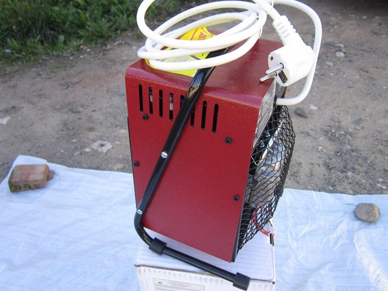 Электрический тепловентилятор ТВ-2,5